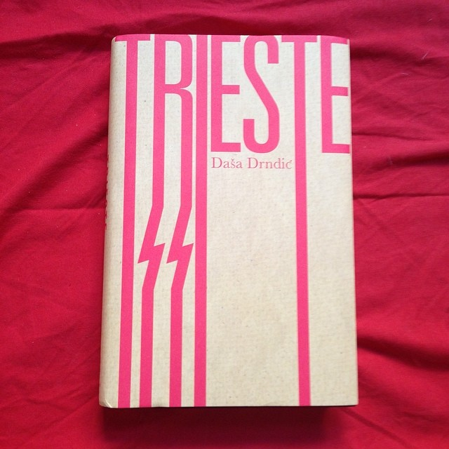 An old favourite we created for @maclehosepress in 2012. The cover was made from parcel #paper #typography #minimal #design #graphicdesign #typedesign #books #booklovers #red #colour #trieste #Italy