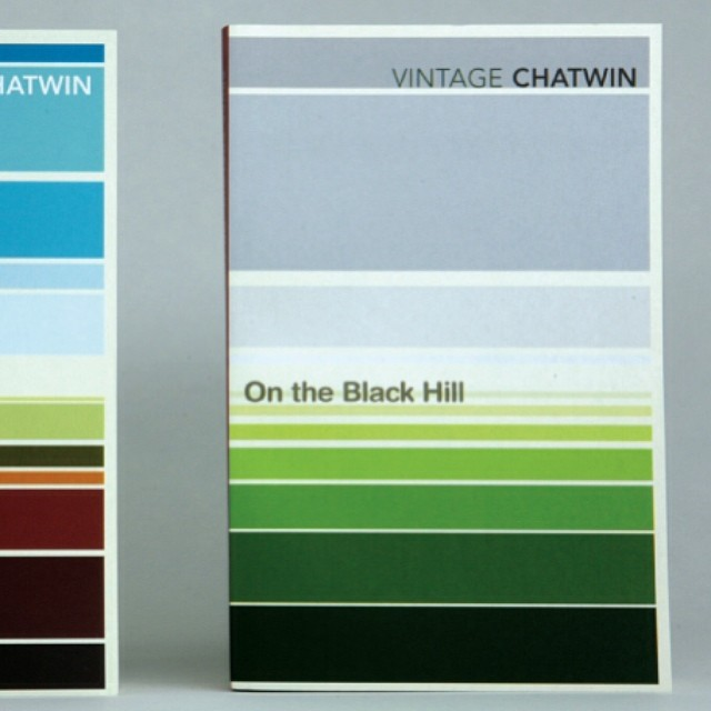 On the #Black #Hill from our #abstract #landscape series for #travel #writer #Bruce #Chatwin in 2008. We wanted to see how much landscape and #narrative we could convey with the simplest #graphic elements. #books #booklover #vector #geometry #colour #colours #australia #clay #grey #horizon #sky #land #blue #painting #sun #graphicdesign #bookdesign #SALUarchive