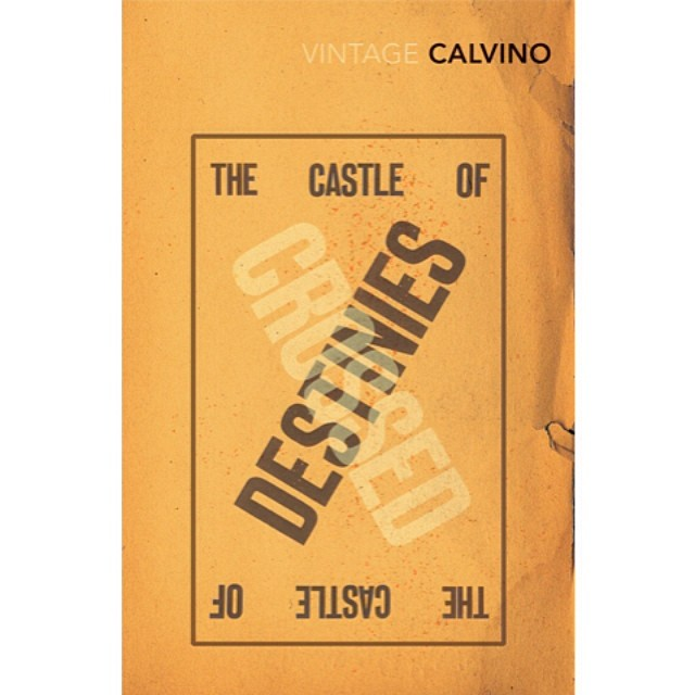 The Castle of Crossed Destinies our #tarot inspired cover from our #typographic #bookcover series for ItaloCalvino 2008. #typography #tarotcards #books #booklovers #branding #writer #literature #letterpress #graphicdesign #classic #SALUarchive