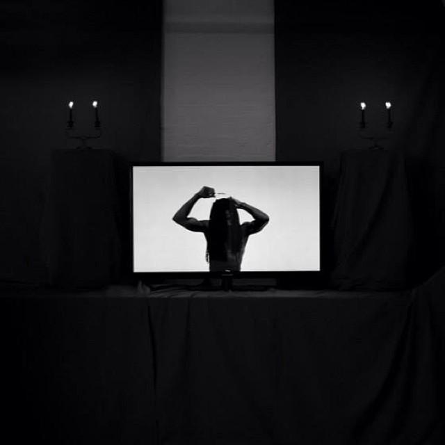 #selfie #altar #selfportrait #ritual hair #flagellation #image #representation #blackandwhite #monochrome