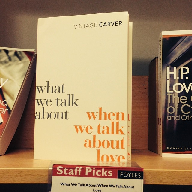 And another… #carver #raymondcarver #love #coversesign #typography #nowvintage