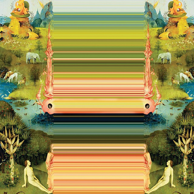 The #Garden #2012. #bosch abuse #art #appropriation #manual #glitch by Michael Salu