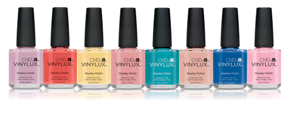 I love these fun spring shades!  I want to wear the bright blue next :)