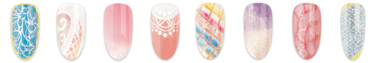 These are the hot designs for CND's Flirty Collection for Spring 2016.  #gorgeous