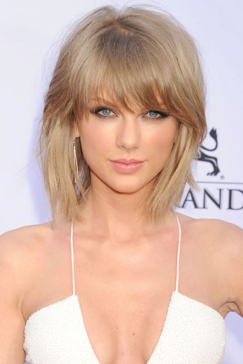 Who doesn't want to be Taylor Swift?  Her hairstyle is amazing too!