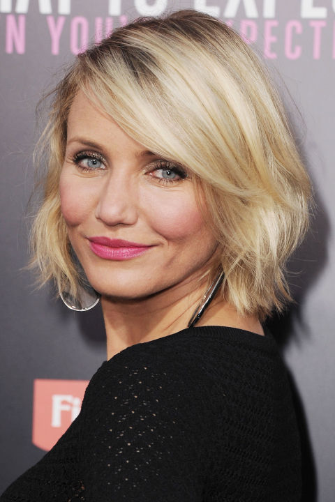 Softer edges and lots of texture make this short bob super easy + flirty!
