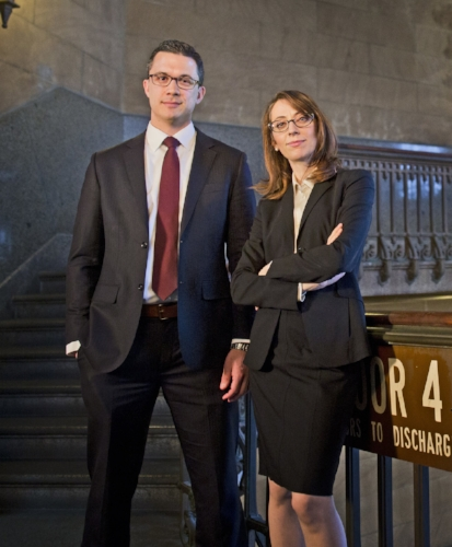 Philadelphia Criminal Defense Lawyers Zak T. Goldstein, Esq. and Demetra Mehta, Esq.