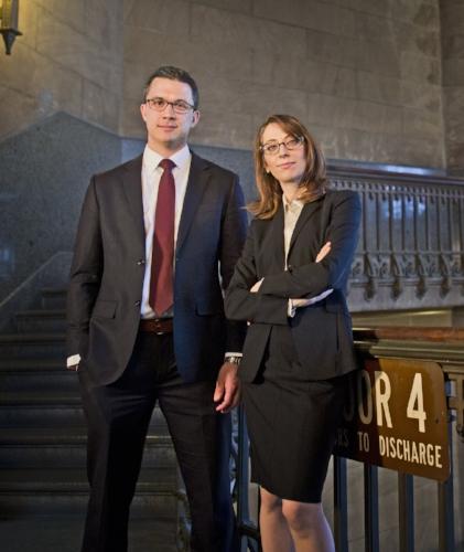 Criminal Defense Lawyers Zak Goldstein and Demetra Mehta