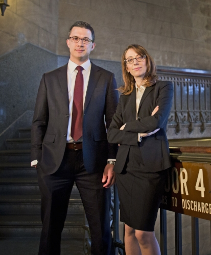 Criminal Defense Attorneys Zak Goldstein and Demetra Mehta