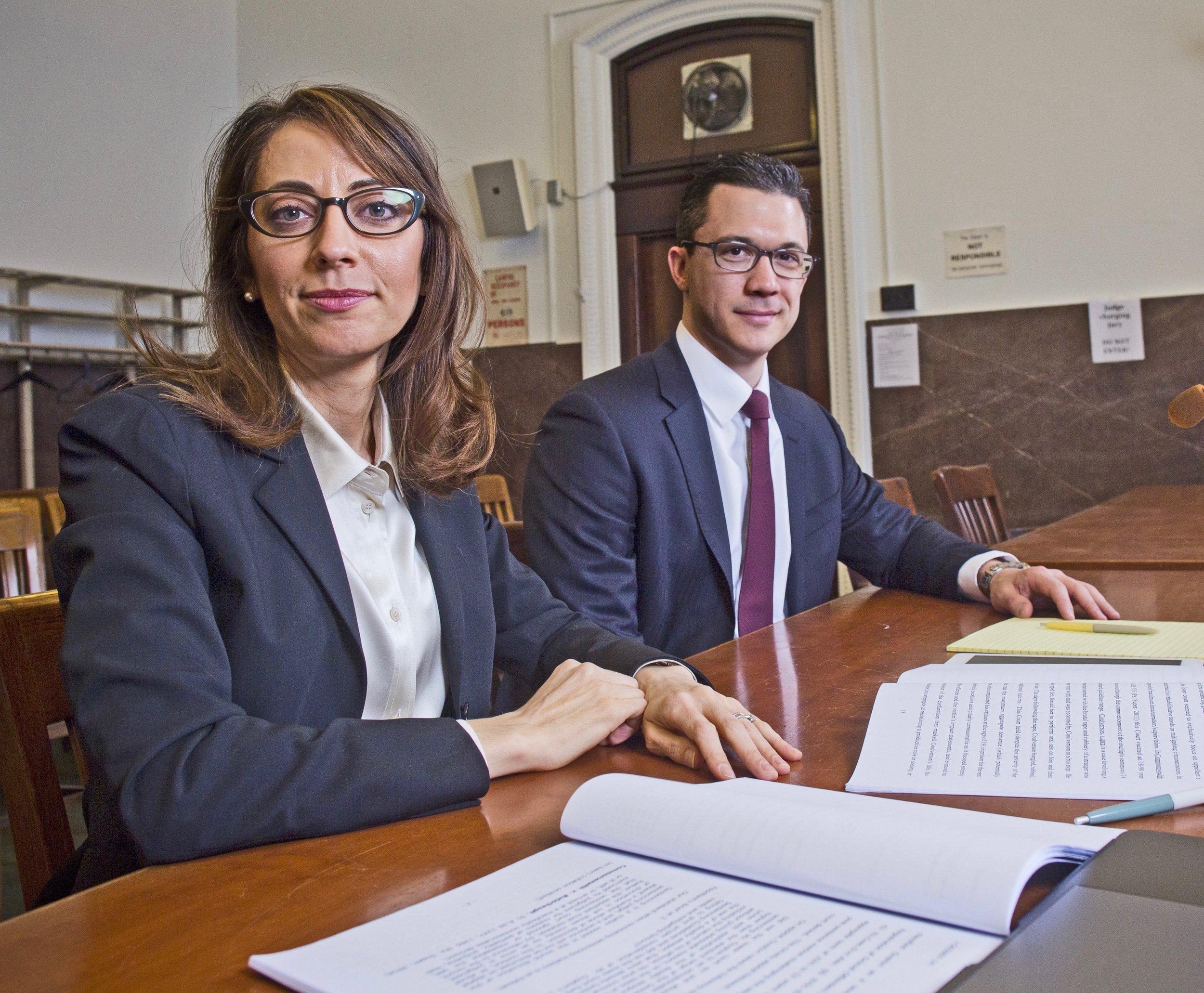 Philadelphia Criminal Defense Lawyers Demetra Mehta and Zak Goldstein