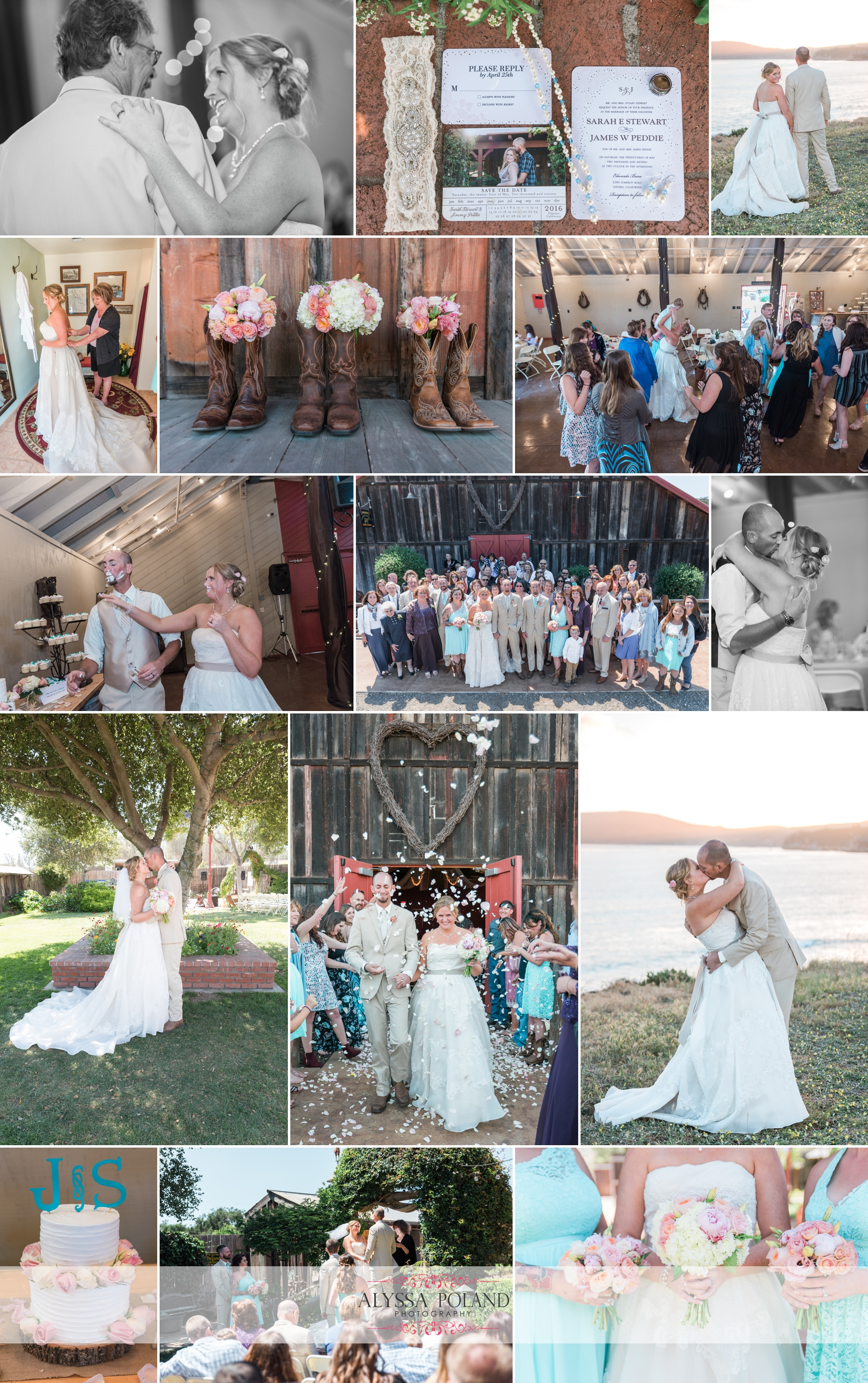Nipomo Edwards barn wedding