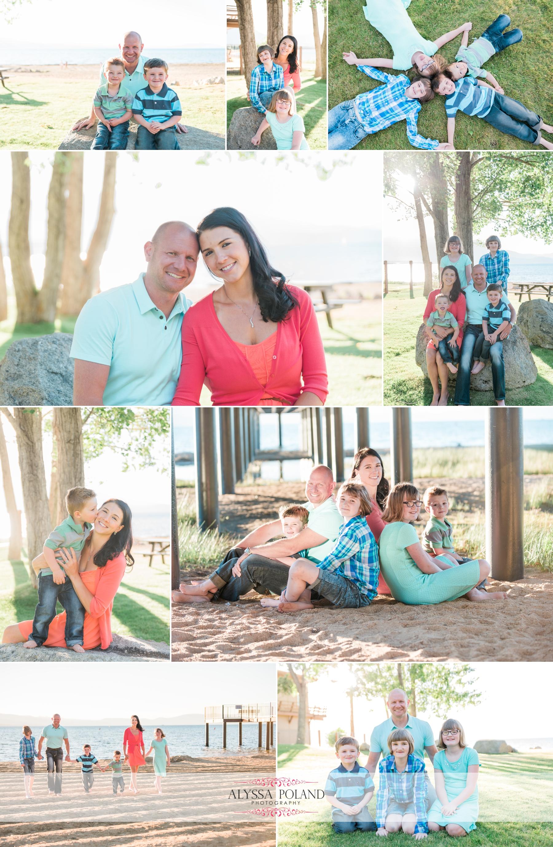 Lake Tahoe Family Photographer