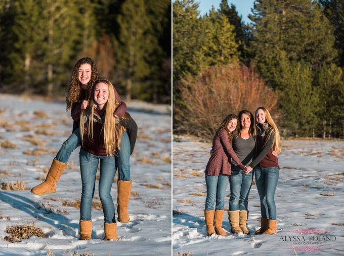 Lake Tahoe Winter Family Photography