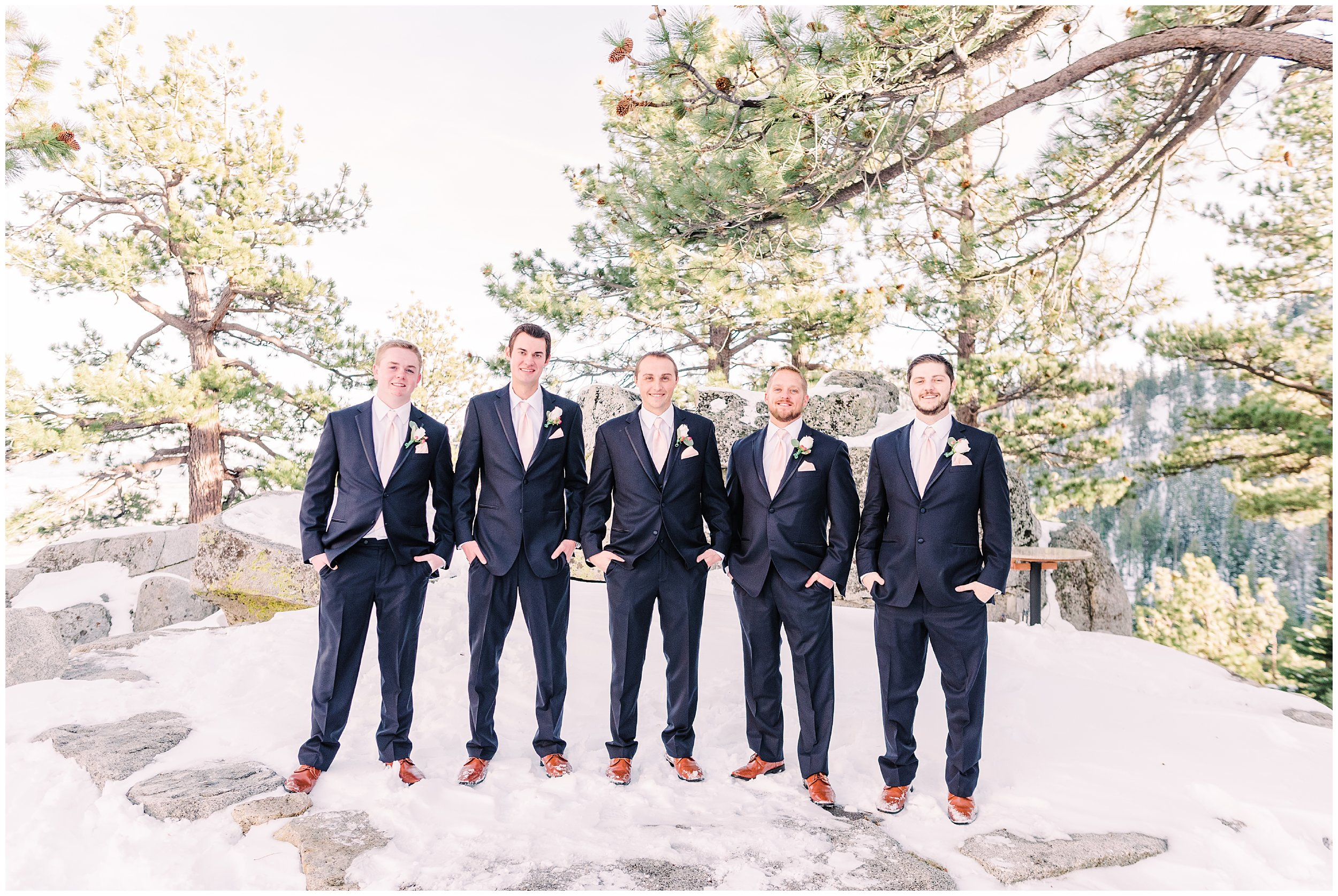 tahoe winter wedding