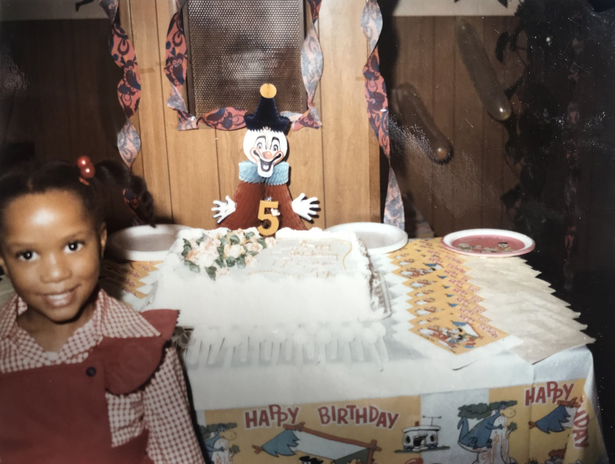 Dedicated in memory of my big sister Valerie. You believed. (Me at my 5th birthday party.)