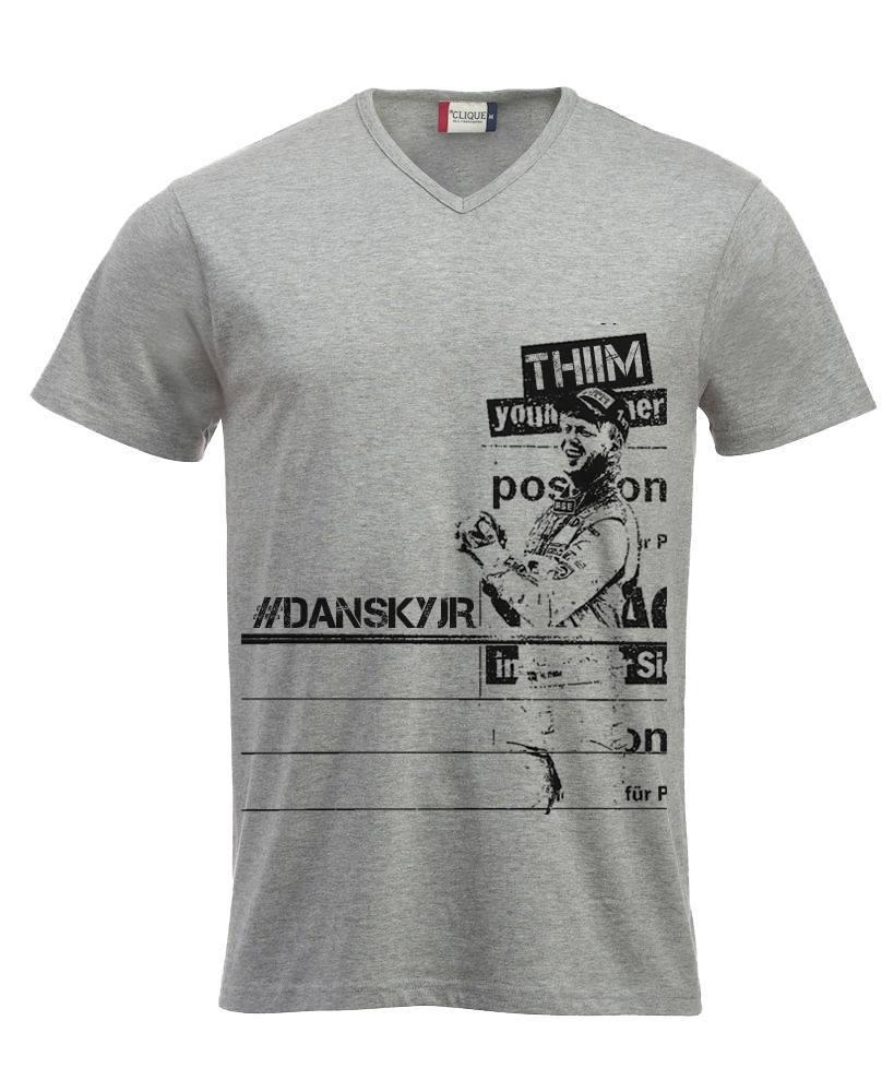 T-Shirt grey: #DanskyJR / 85% Cotton, 15% Viscose