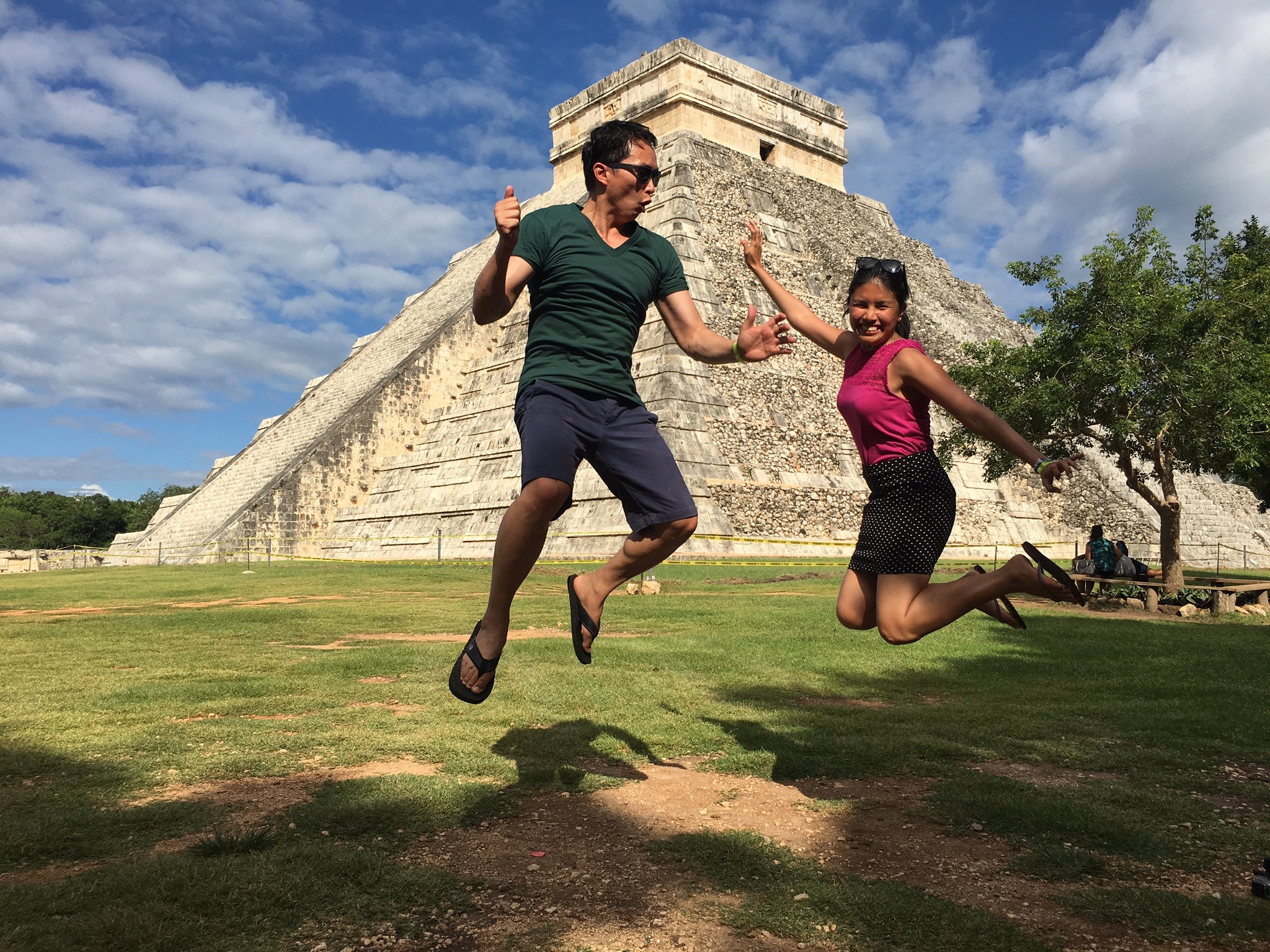 Chichen Itza is located on Mexico's Yucatán Peninsula. This UNESCO World Heritage Site features impressive architecture from the ancient Mayan civilization.
