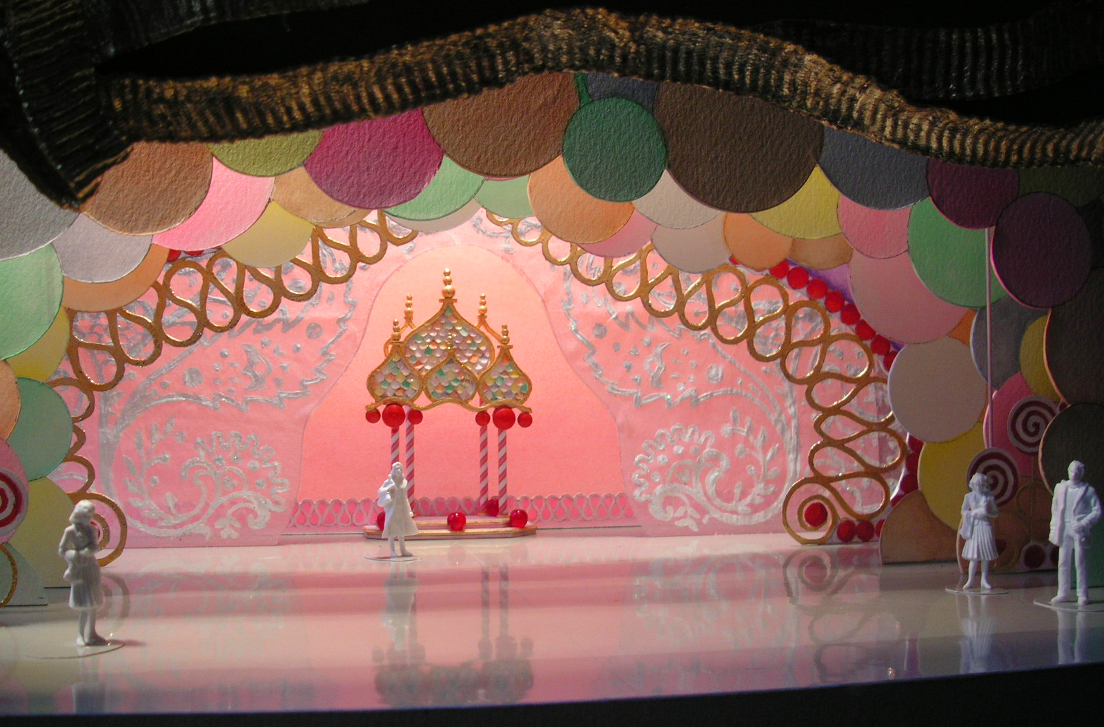 The New Nutcracker Ballet- Scenic Design 1:4%22=1' Scale Model for %22The Grand Pas Sweets Gazebo%22- Lone Star Ballet- Amarillo, Texas- Model by Rachel Short Janocko.jpg