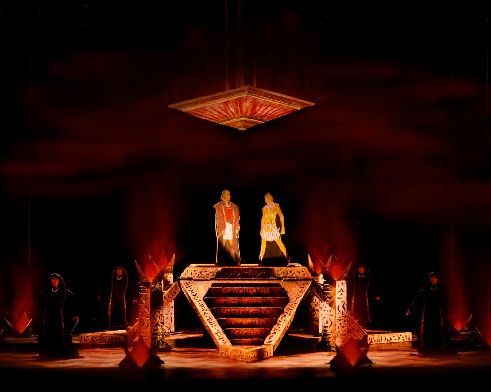 The Temple,Original Broadway Model