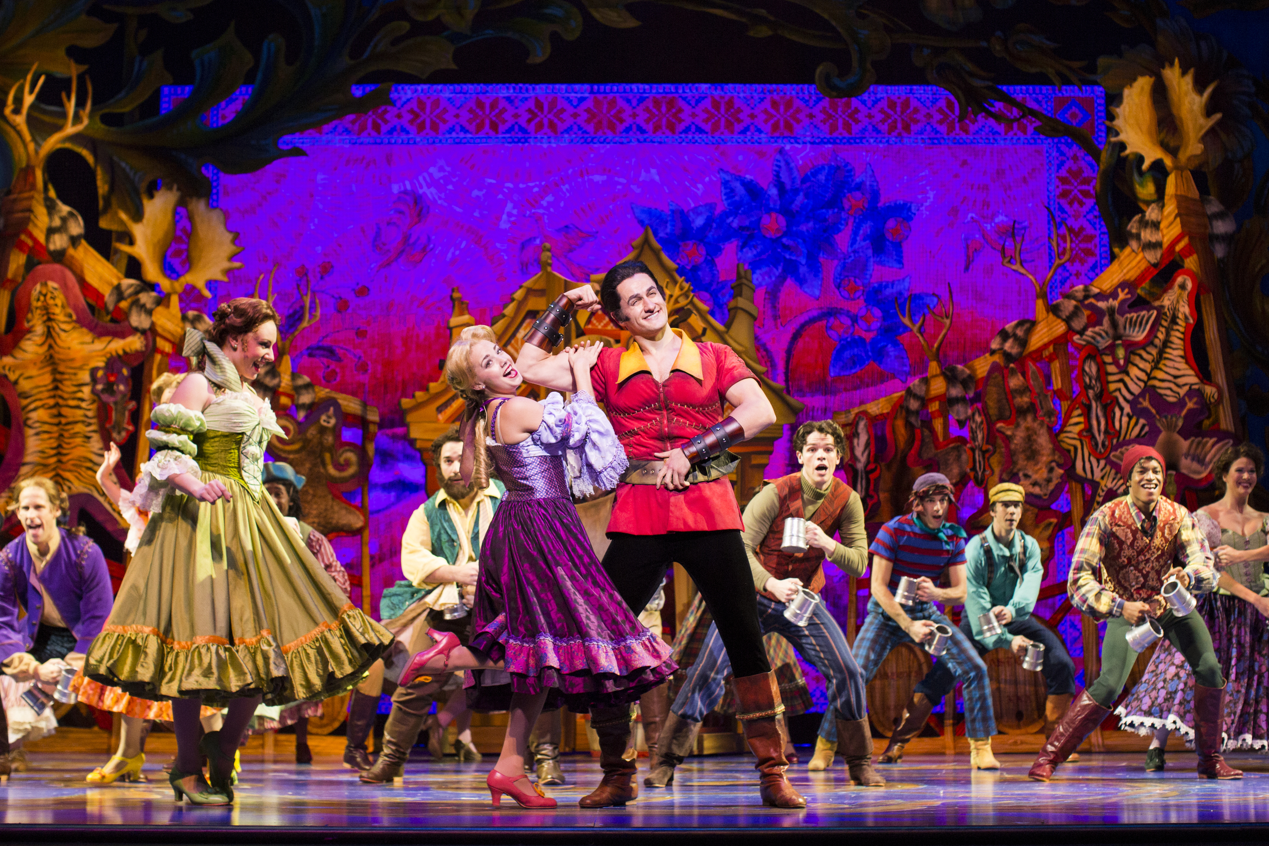 9. Disney's Beauty And The Beast- Inside the Tavern %22Gaston%22-International Tour Produced by Networks Tours & Broadway Entertainment Group.jpg.jpg