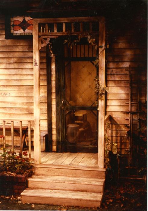 Back Porch Entrance - Stage Left