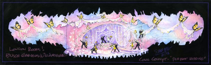 Scene Three - The Perfect Wedding/Romantic Fantasy
