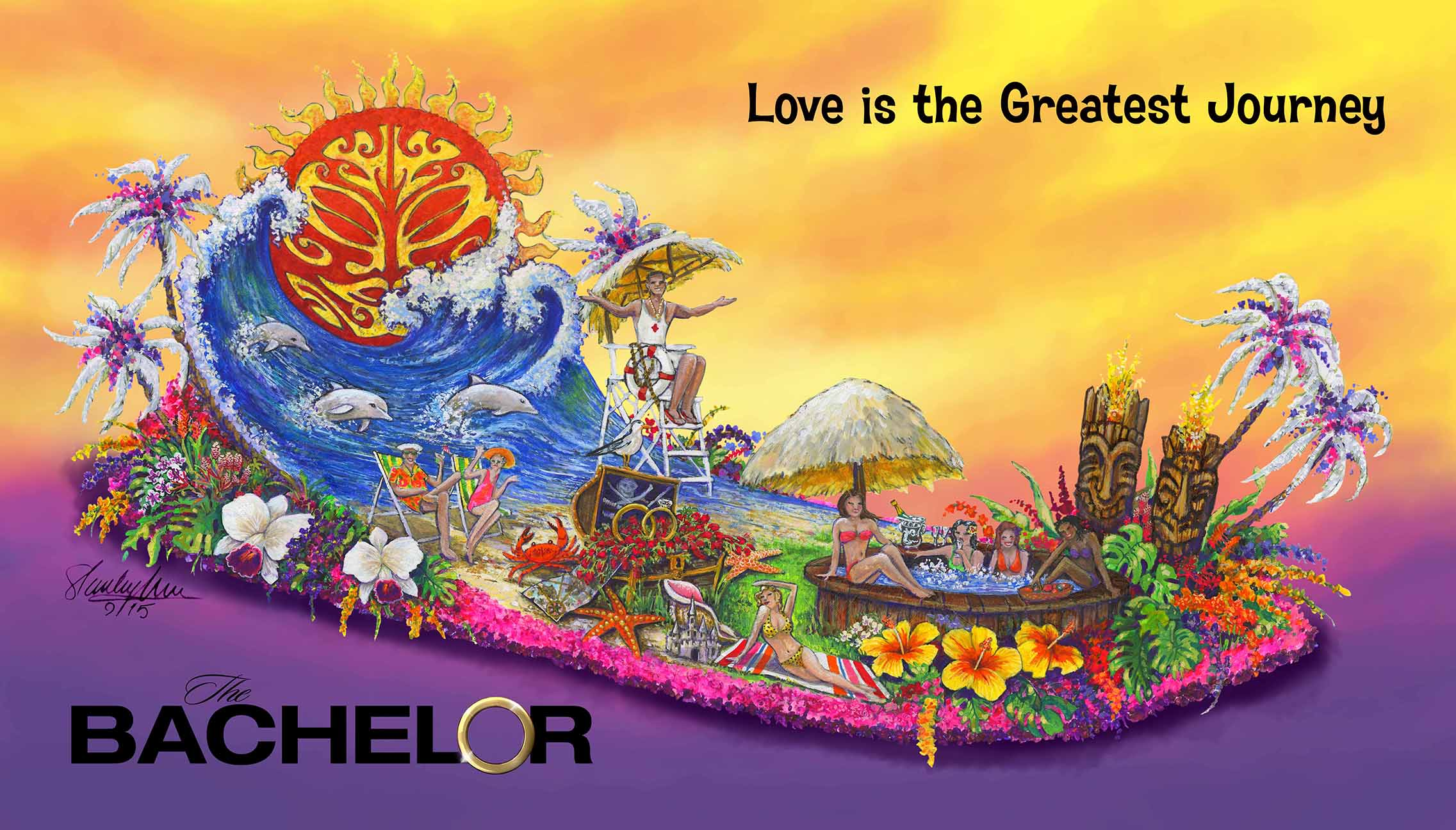 The Bachelor 2016 Color Rendering