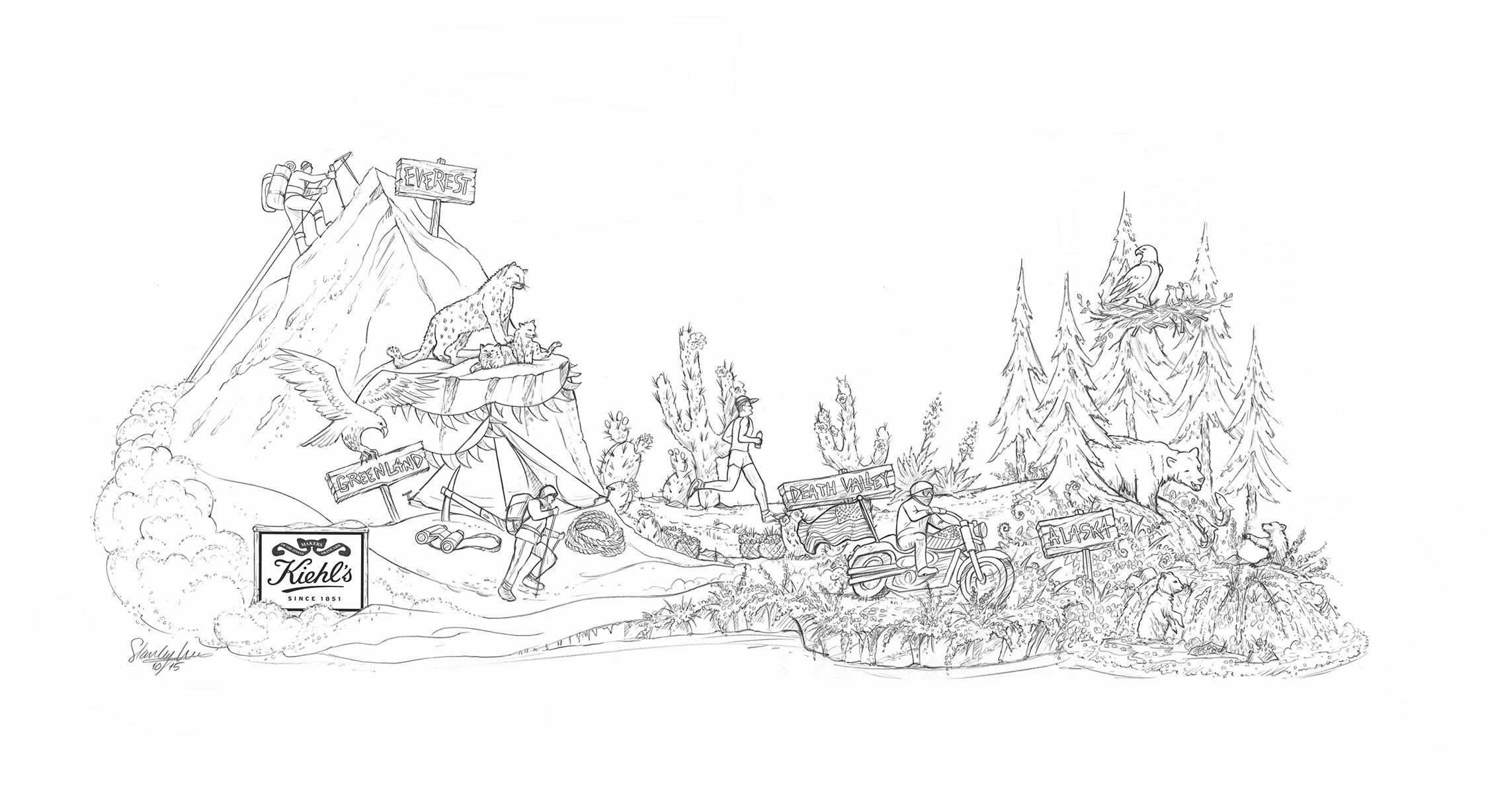 Kiehl's Since 1851 2016 Final Sketch by Stanley A. Meyer