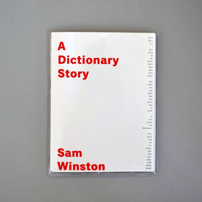 A Dictionary Story Book £10.00