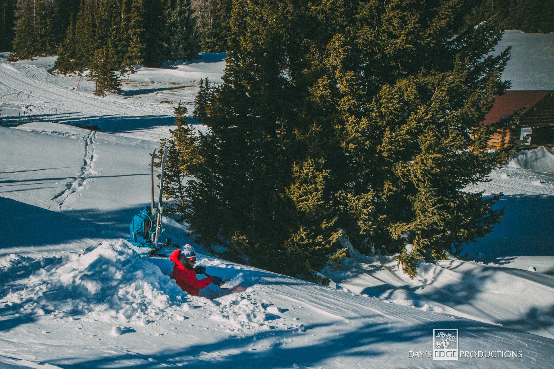 End of Snow-JaneDigging.jpg