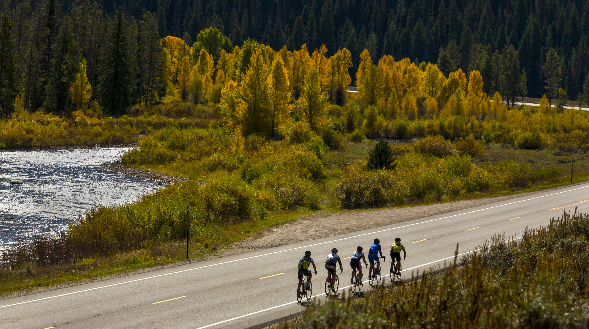There are always people around looking for more riding on the road or on the trails.   Cycle Greater Yellowstone