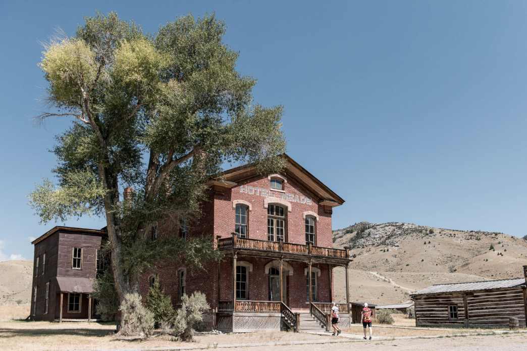 Many towns in the area have a very Wild West feeling.Cycle Greater Yellowstone