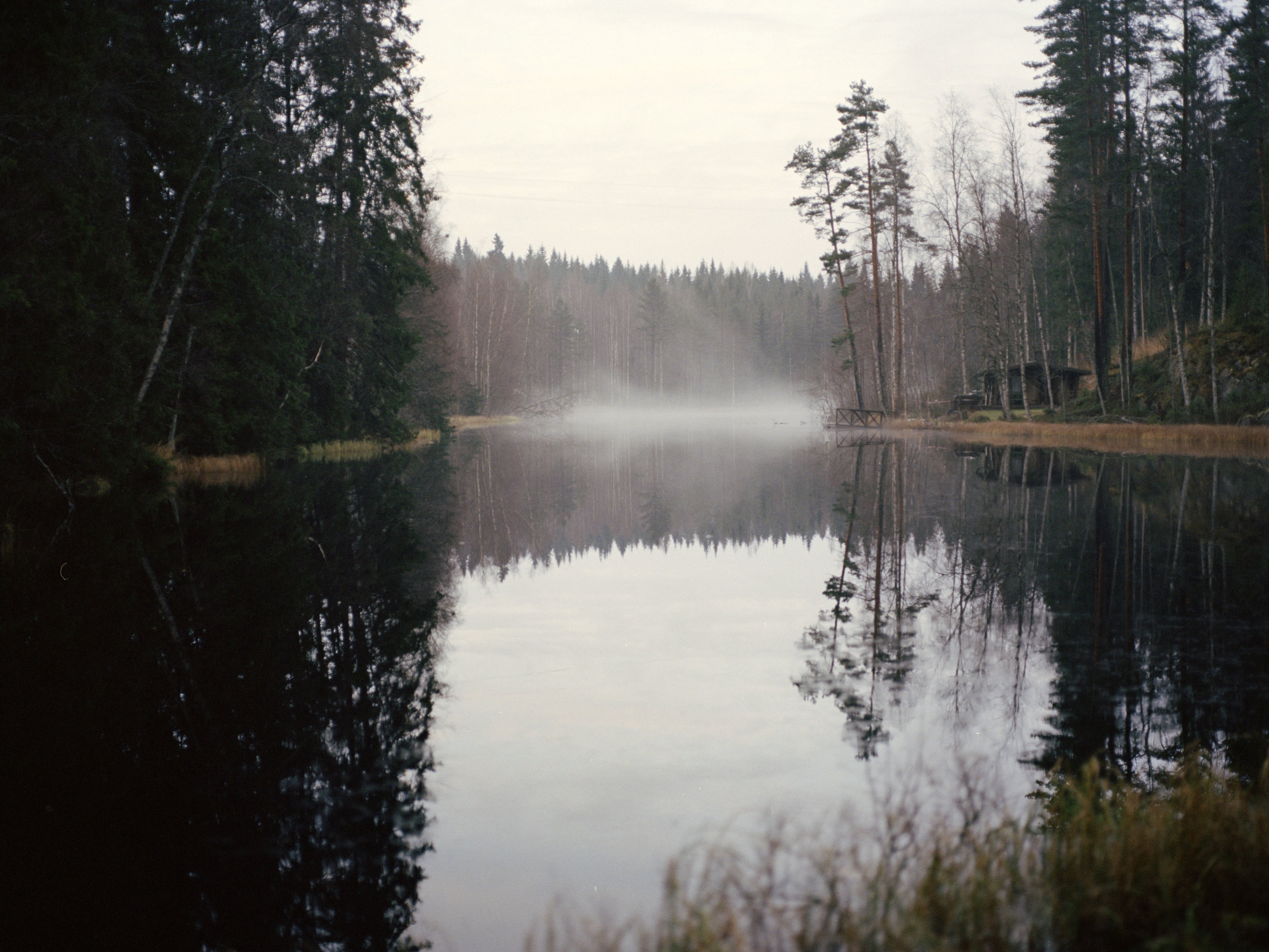 """Paavo died 31 years old. It was gloomy night, and his wife Hilma and his kids was asleep in Lehtola. Paavo had driven his brother to a party in a town 30 kilometers away on a motorcycle. Suddenly, Hilma woke up and shouted: """"Did you hear that?"""" But it was completely quiet in the woods. """"Someone had an accident on a motorcycle,"""" Hilma said. The following morning Paavo was found with a skull fracture over ten kilometers away."""