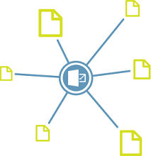 Locate content in SharePoint without leaving Outlook.