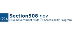 GSA Section 508 logo