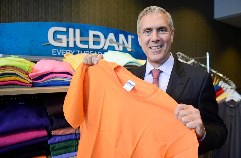 Gildan Activewear Inc.'s president and CEO, Glenn Chamandy.Photo: Financial Post