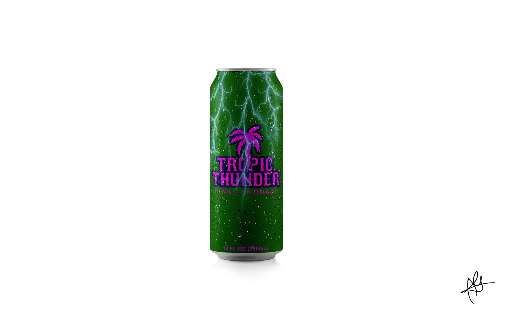 TROPIC THUNDER PINK LEMONADE MOCKUP