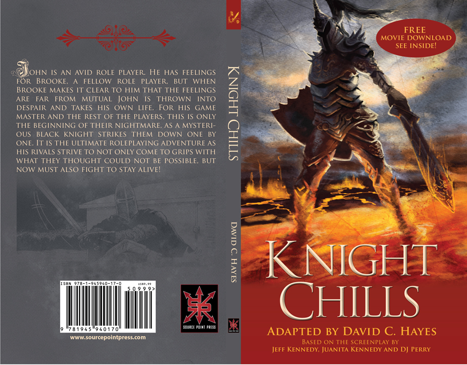 Knight Chills - Cover design and layout