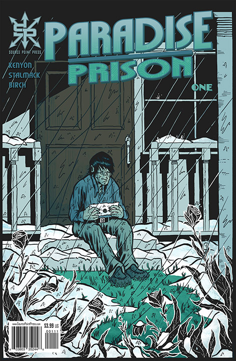 Paradise Prison - Logo design and cover layout