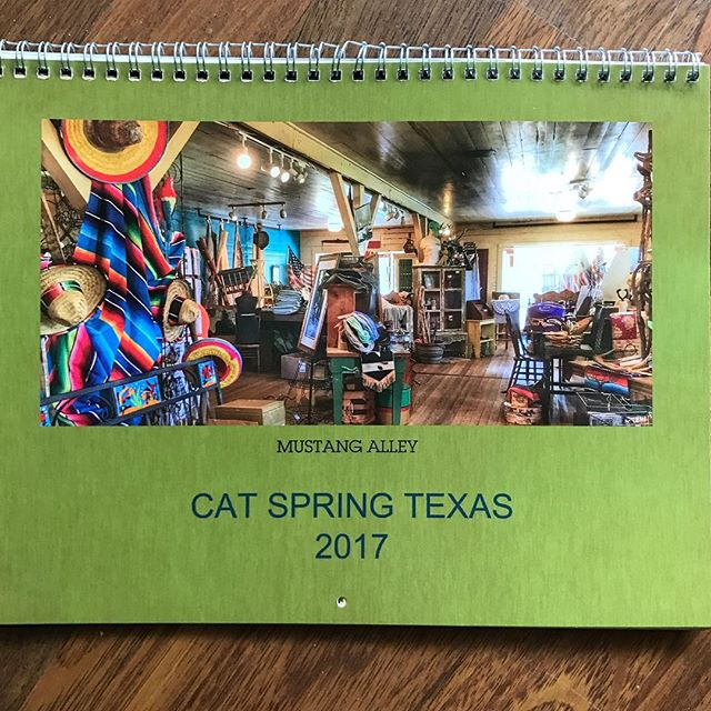 2017 Cat Spring Calendars for sale! Makes great Christmas gift!  #catspring #catspringtx #christmasgifts