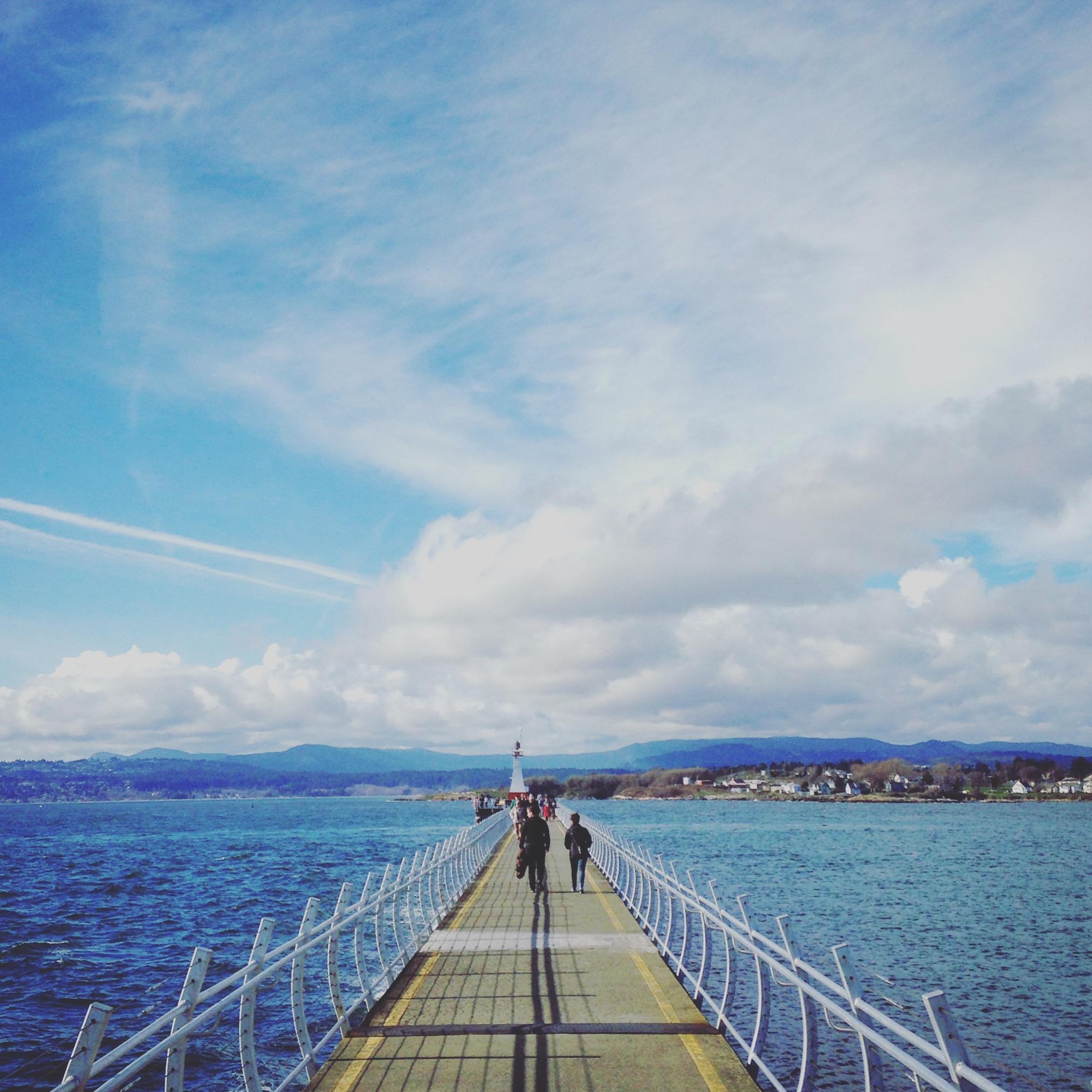Breakwater Pier, Victoria, British Columbia