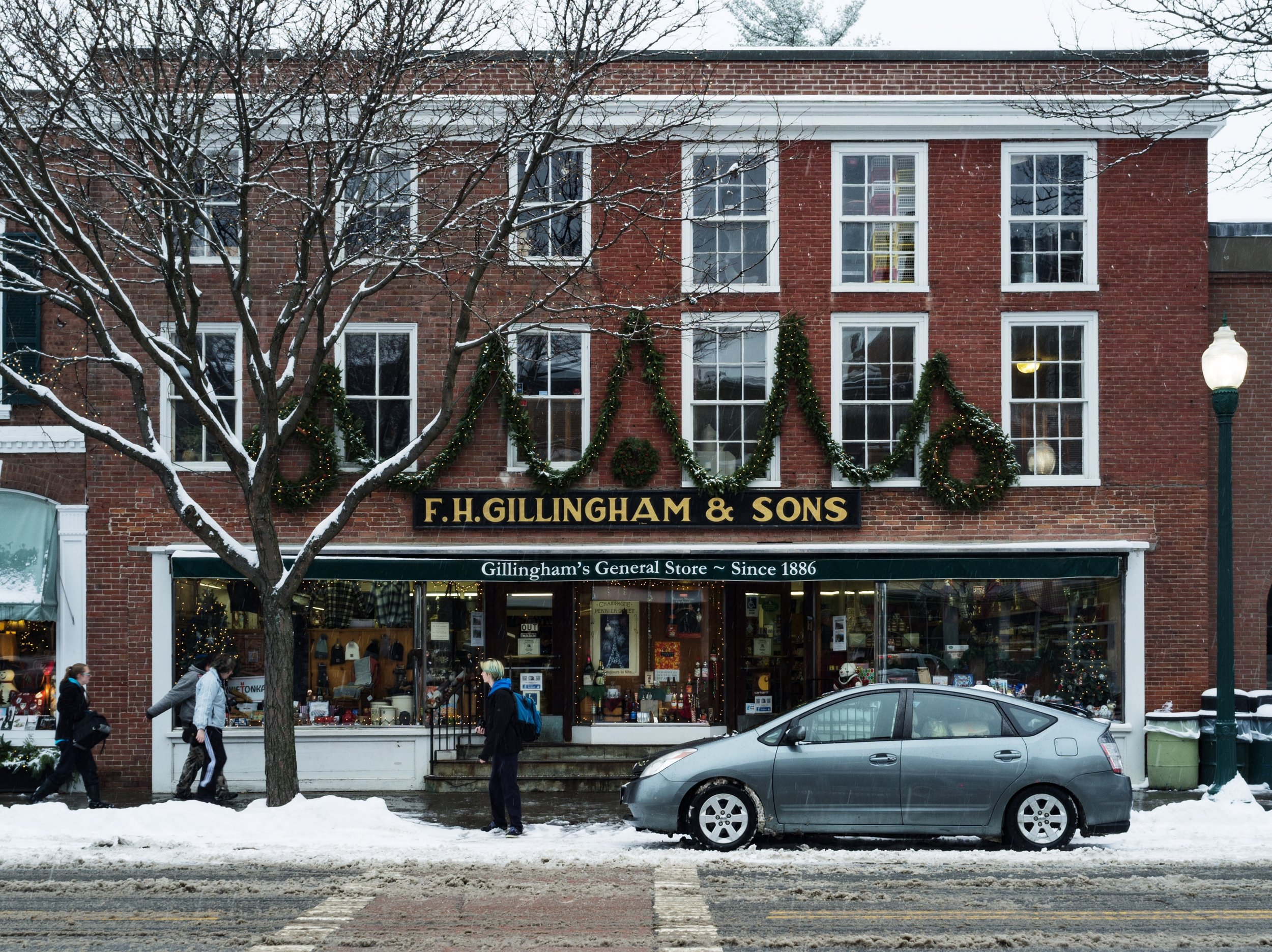 Gillingham's General store in Woodstock, VT