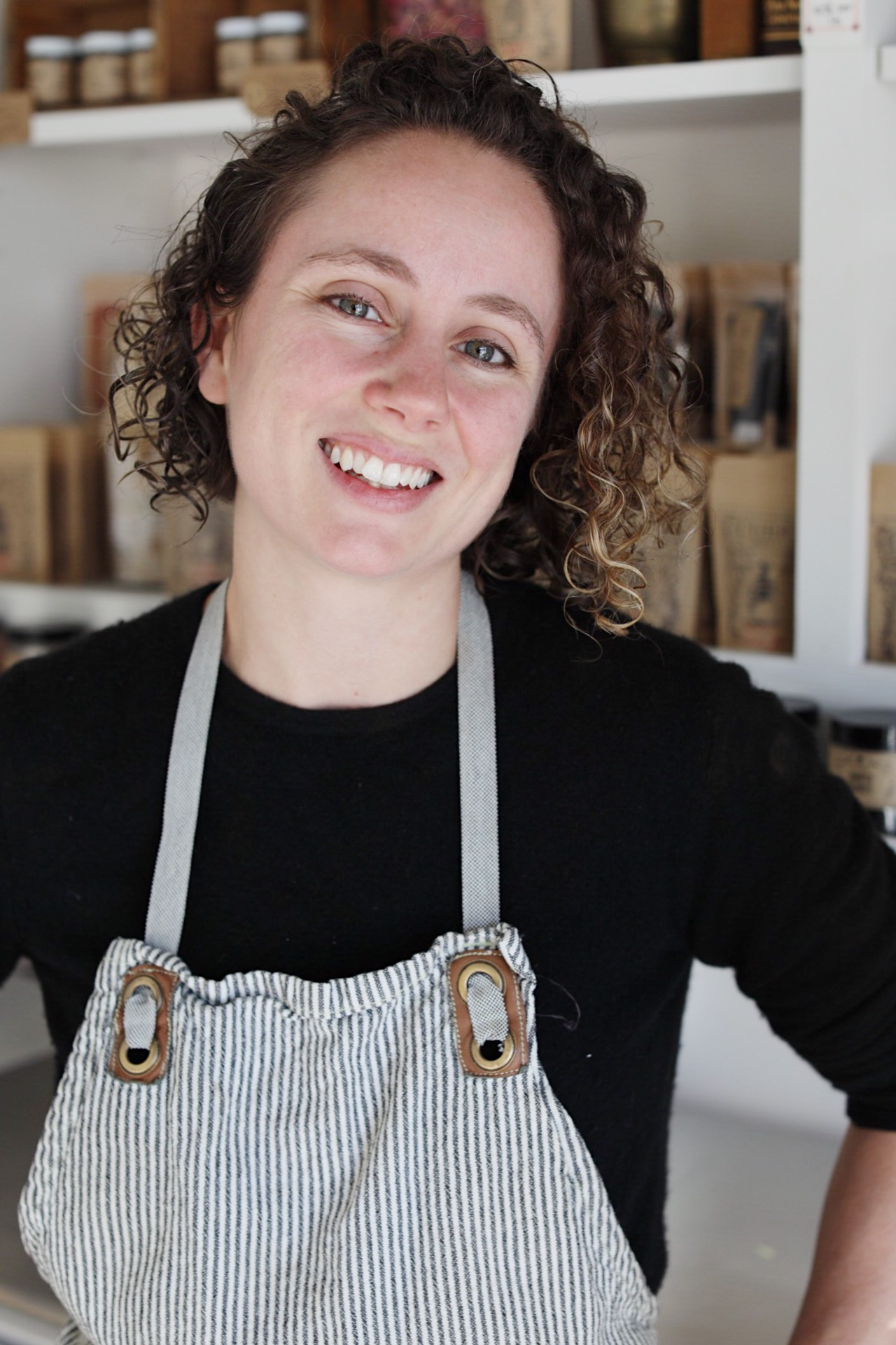 Claire Cheney, Owner of Curio Spice Co.