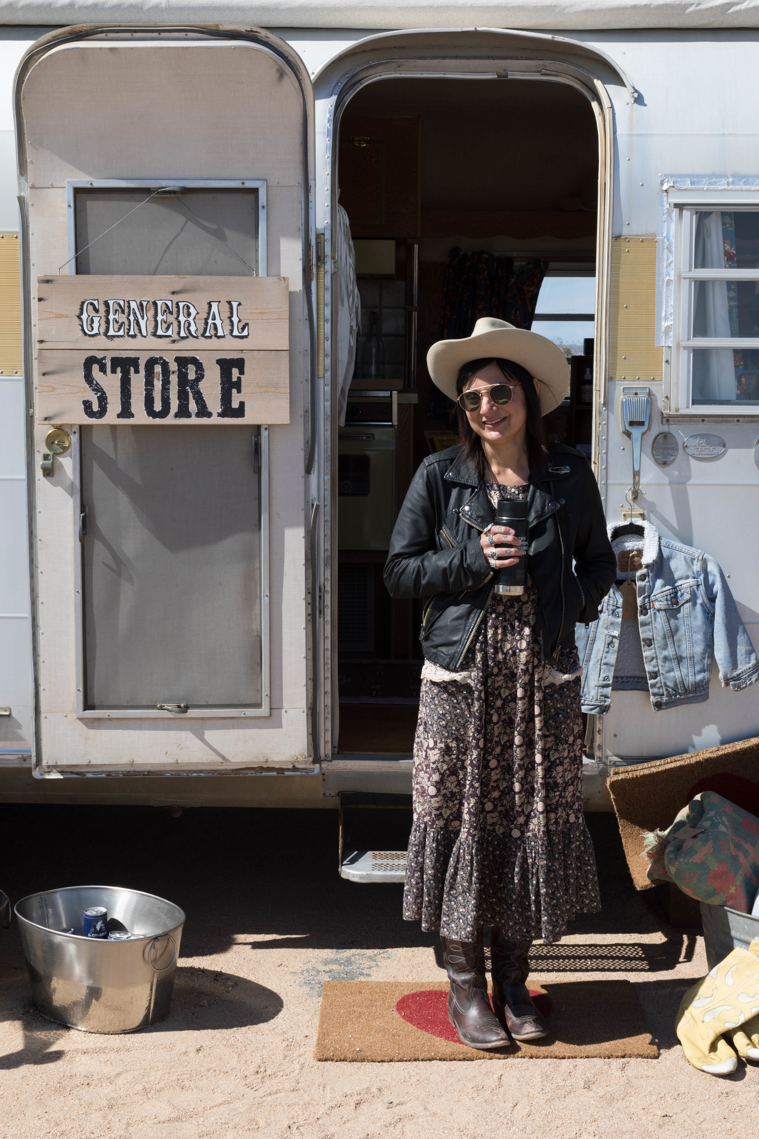 Cutest General Store full of hand picked desert provisions.