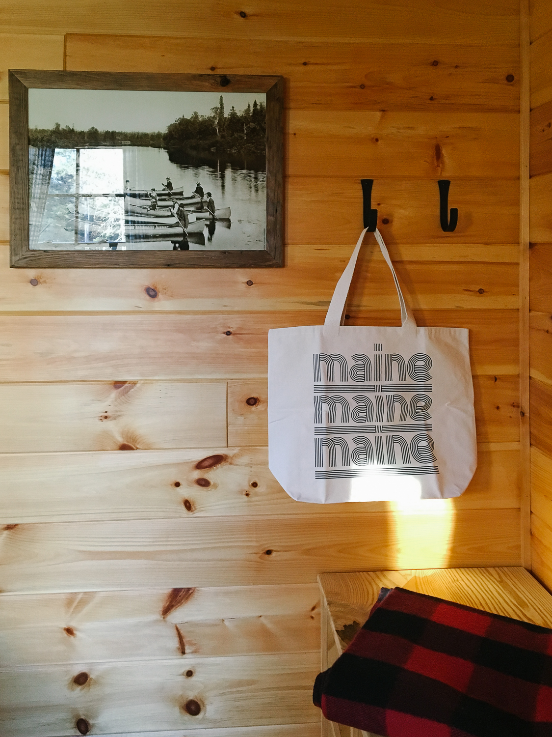 MAINE Tote Bag:  More and Co.