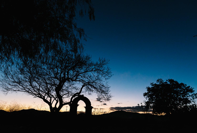 Nightfall at the Hacienda