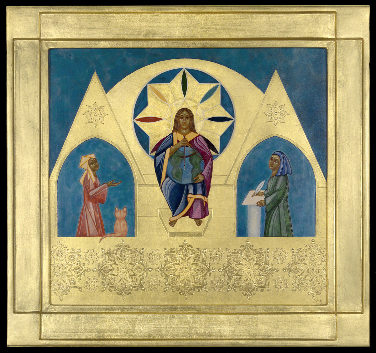 Julian of Norwich and Teresa of Avila, Theodidacts