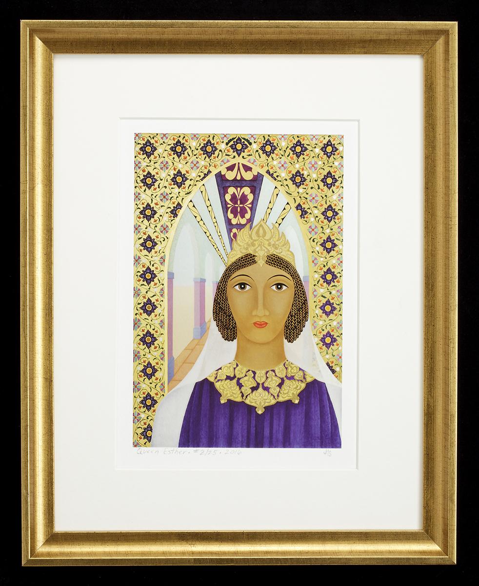 Queen Esther framed print