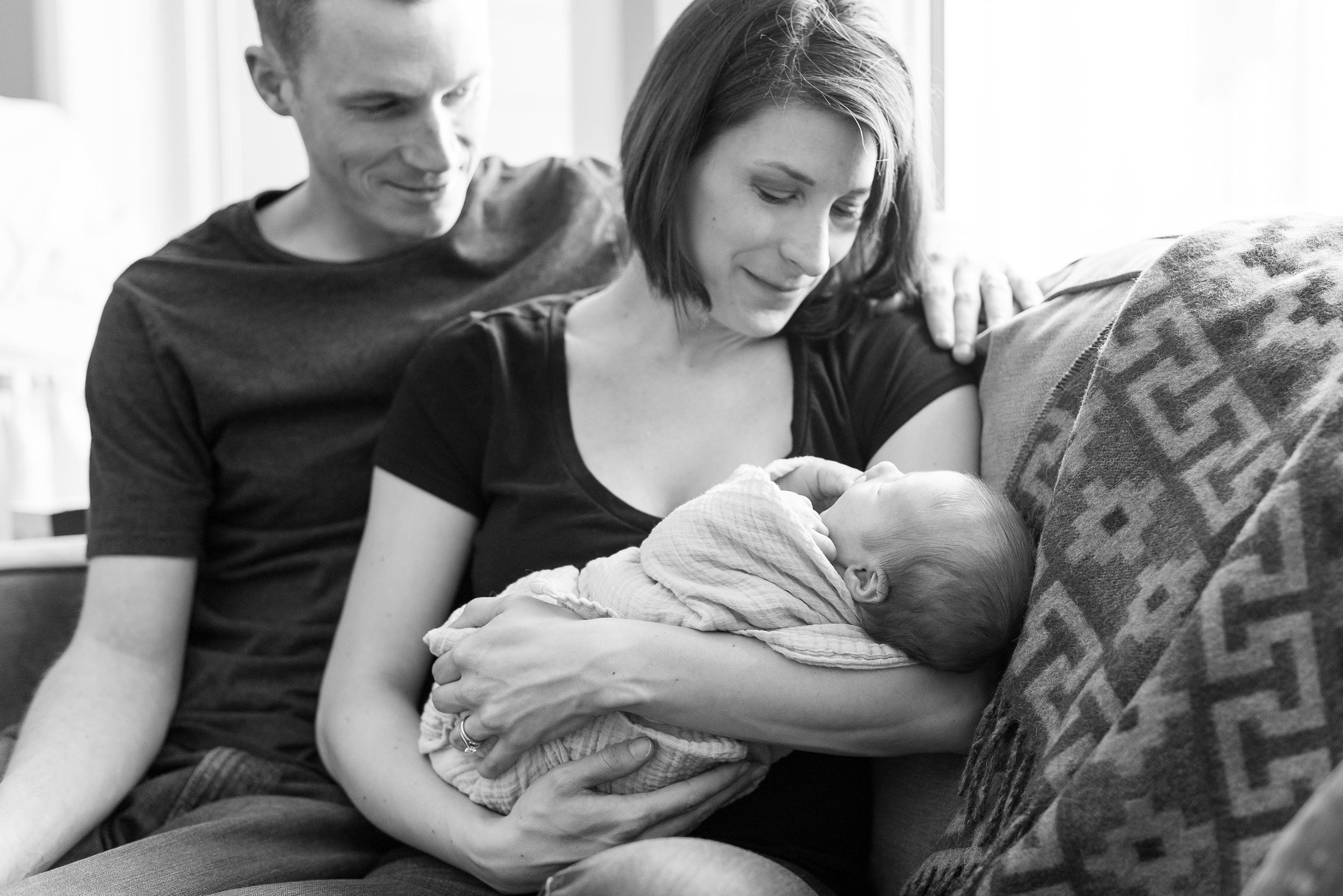 See the doting?? They're so in love with the little guy...