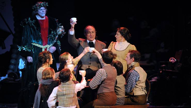 Mrs. Cratchit in  A Musical Christmas Carol  at Pittsburgh CLO